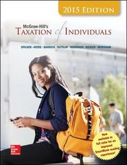McGraw-Hill's Taxation of Individuals, 2015 Edition 6th Edition 9781259197727 1259197727