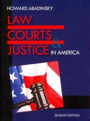 Law, Courts, and Justice 7th Edition 9781478611790 1478611790
