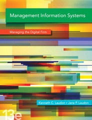 Management Information Systems 13th Edition 9780133871807 0133871800