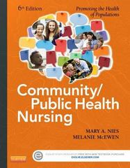 Community/Public Health Nursing 6th Edition 9780323188197 0323188192