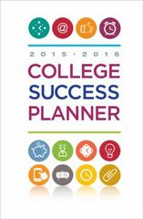 College Success Planner 2015-2016 14th Edition 9781305109636 1305109635