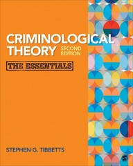 Criminological Theory 2nd Edition 9781483359526 1483359522