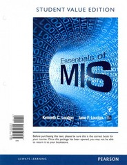Essentials of MIS, Student Value Edition Plus 2014 MyMISLab with Pearson eText -- Access Card Package 11th Edition 9780133869972 0133869970