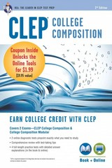 CLEP College Composition Book + Online 1st Edition 9780738684109 0738684104
