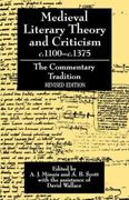Medieval Literary Theory and Criticism c.1100--c.1375 2nd edition 9780198112747 0198112742