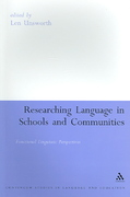 Researching Language in Schools and Communities 1st edition 9780826478719 0826478719