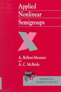 Applied Nonlinear Semigroups 1st edition 9780471978671 0471978671