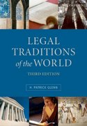 Legal Traditions of the World: Sustainable Diversity in Law 3rd edition 9780199205417 0199205418