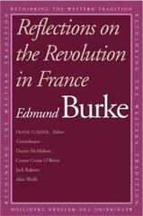 Reflections on the Revolution in France 0 9780300099799 0300099797