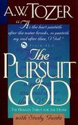 The Pursuit of God with Study Guide 0 9781600661068 1600661068