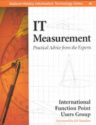 IT Measurement 1st edition 9780201741582 020174158X