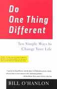 Do One Thing Different 1st Edition 9780688177942 0688177948