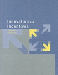 Innovation and Incentives 1st Edition 9780262693431 0262693437