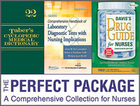 Taber's Cyclopedic Medical Dictionary 22nd Edition & Davis's Drug Guide for Nurses 14th Edition & Davis's Comprehensive Handbook of Laboratory and Diagnostic Tests With Nursing Implications 6th Edition (Package) 22th Edition 9780803644069 080364406X