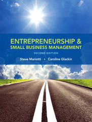 Entrepreneurship and Small Business Management 2nd Edition 9780133801163 0133801160