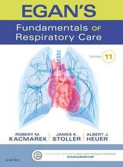 Egan's Fundamentals of Respiratory Care 11th Edition 9780323341363 0323341365