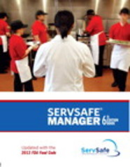 ServSafe Manager, Revised with ServSafe Online Exam Voucher 6th Edition 9780133908473 013390847X