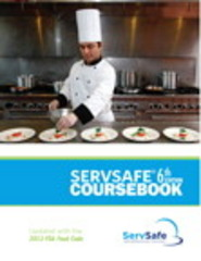 ServSafe Coursebook, Revised 6th Edition 9780133883602 0133883604