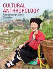 Cultural Anthropology 16th Edition 9780077861537 0077861531