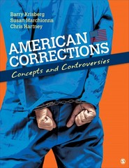 American Corrections 1st Edition 9781412974394 1412974399