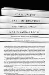Notes on the Death of Culture 1st Edition 9780374123048 0374123047