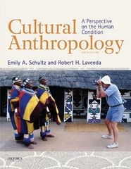 Cultural Anthropology: A Perspective on the Human Condition 9th Edition 9780199350889 0199350884