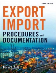Export/Import Procedures and Documentation 5th Edition 9780814434758 0814434754