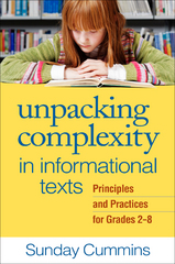 Unpacking Complexity in Informational Texts 1st Edition 9781462518500 1462518508