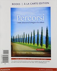 Percorsi 3rd Edition 9780133934328 0133934322