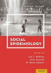 Social Epidemiology 2nd Edition 9780199395330 0199395330