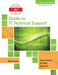 A+ Guide to IT Technical Support (Hardware and Software) 9th Edition 9781305266438 1305266439