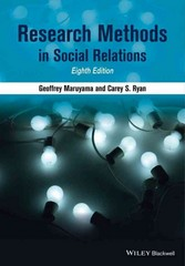 Research Methods in Social Relations 8th Edition 9781118764978 1118764978