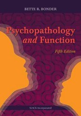 Psychopathology and Function 5th Edition 9781617118845 1617118842