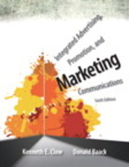 Integrated Advertising, Promotion, and Marketing Communications Plus 2014 MyMarketingLab with Pearson eText -- Access Card Package 6th Edition 9780133879308 0133879305