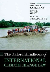 The Oxford Handbook of International Climate Change Law 1st Edition 9780199684601 019968460X