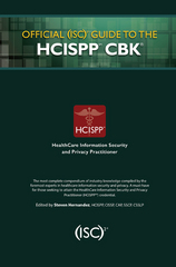 Official (ISC)2 Guide to the HCISPP CBK 1st Edition 9781482262780 1482262789