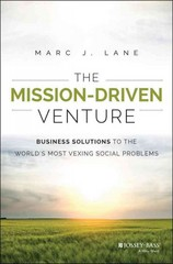 The Mission-Driven Venture 1st Edition 9781118336052 1118336054