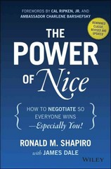 The Power of Nice 3rd Edition 9781118969625 1118969626