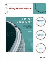 Project Management 9th Edition 9781119031963 1119031966