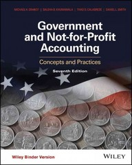 Government and Not-for-Profit Accounting 7th Edition 9781119175025 111917502X