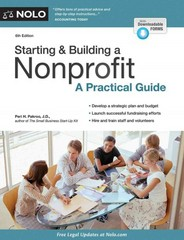 Starting and Building a Nonprofit 6th Edition 9781413320886 1413320880