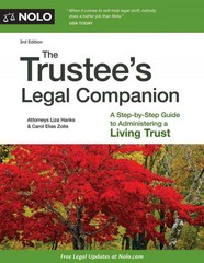 The Trustee's Legal Companion 3rd Edition 9781413320947 1413320945