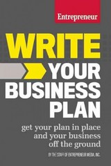 Write Your Business Plan 1st Edition 9781599185576 1599185571