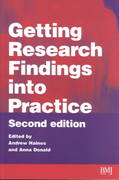 Getting Research Findings into Practice 2nd edition 9780727915535 0727915533
