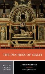 The Duchess of Malfi 1st Edition 9780393923254 0393923258