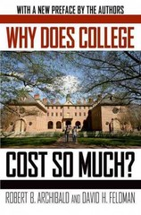 Why Does College Cost So Much 1st Edition 9780190214104 0190214104