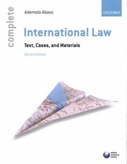 Complete International Law: Text, Cases and Materials 2nd Edition 9780199679072 019967907X
