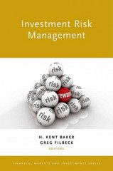 Investment Risk Management 1st Edition 9780199331970 0199331979
