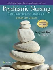 Psychiatric Nursing 5th Edition 9780060000370 0060000376