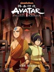 Avatar: The Last Airbender - The Rift Library Edition 1st Edition 9781616555504 1616555505